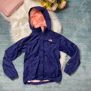 North Face Purple & Pink Windbreaker Rain Jacket